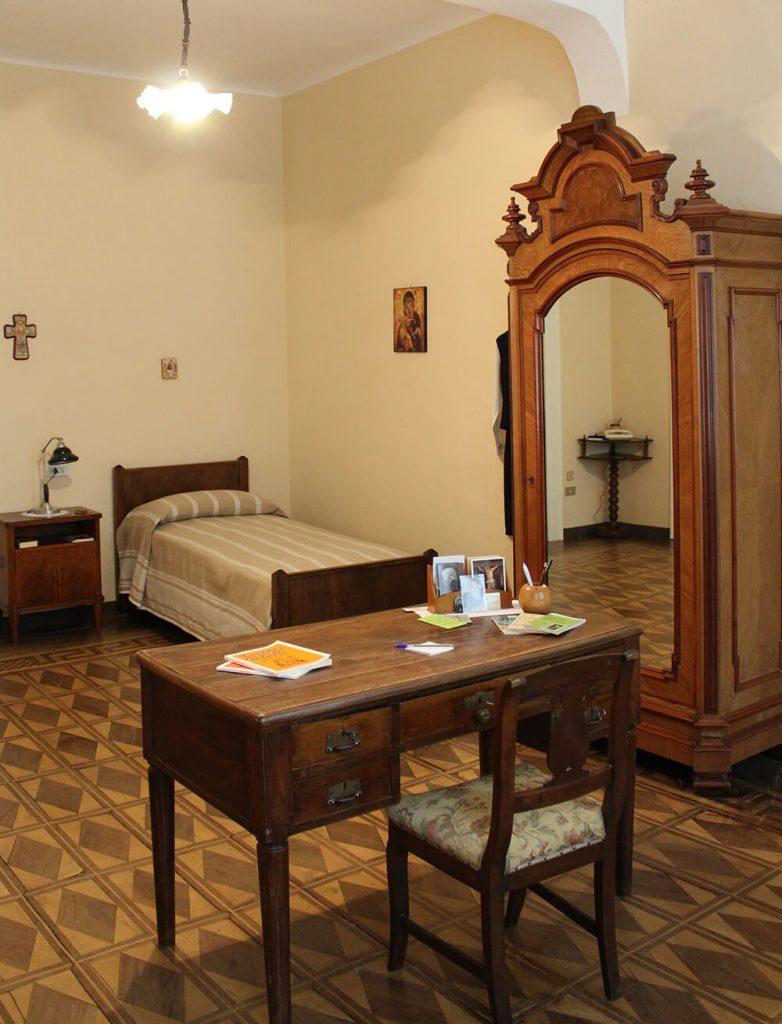 Stanza di Suor Maria Laura nell'ex Istituto Immacolata a Chiavenna