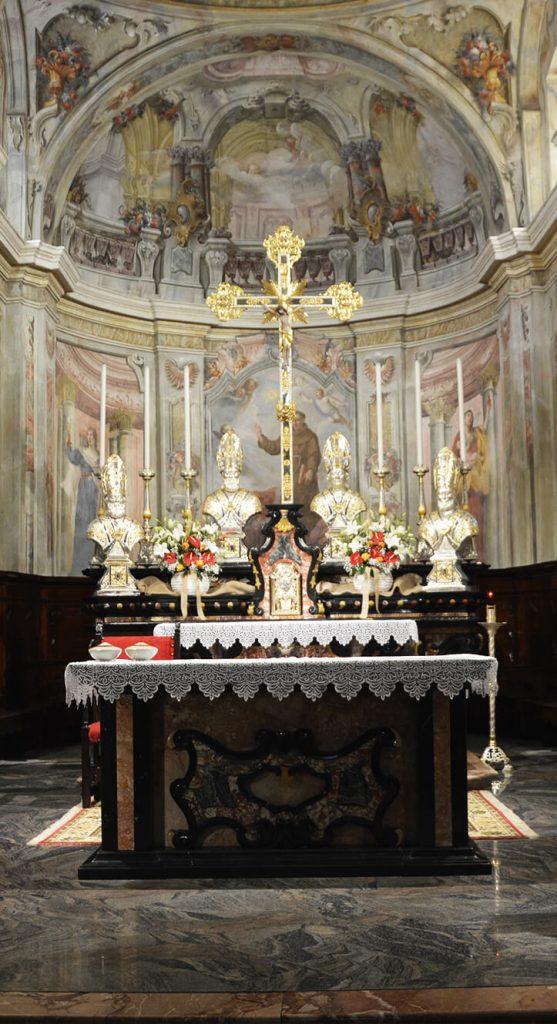 Altare maggiore Chiesa di San Bernardino a Villatico