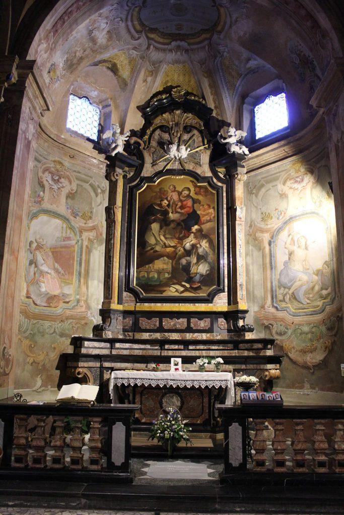 Altare principale di San Lorenzo a Chiavenna
